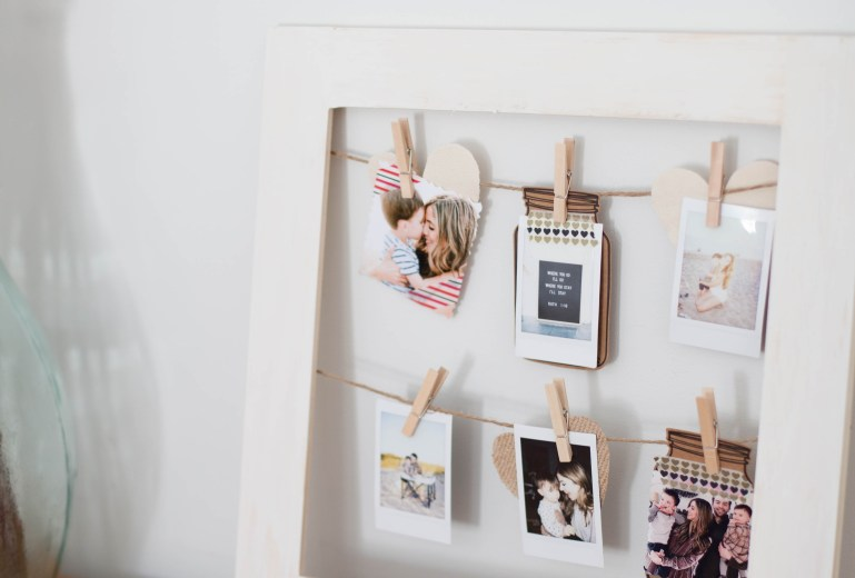 Home // DIY Photo Frame