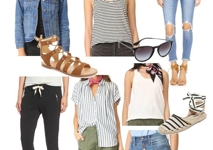 Style // Spring Mom-iform Essentials