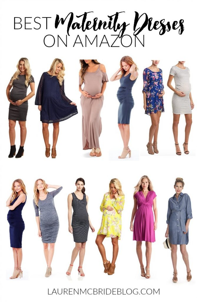 429477e390ee2 Style // Best Maternity Dresses on Amazon - Lauren McBride