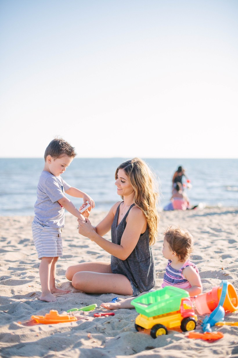 A short list of Kids Summer Skincare Essentials that we use to keep our kids' skin soothed and hydrated all summer long.