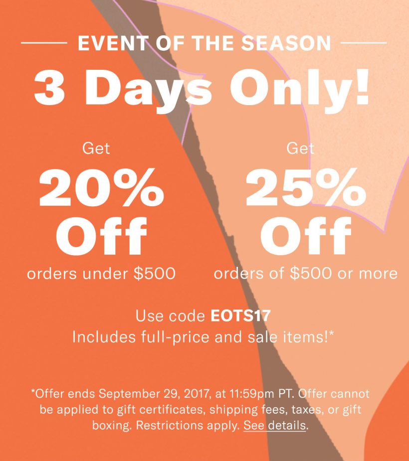 ShopBop End of Season Sale picks