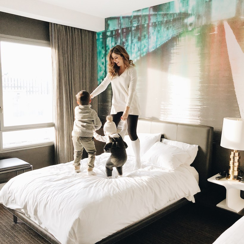 Life and style blogger Lauren McBride shares what to do with one weekend in Brooklyn, and family friendly lodging and activities.