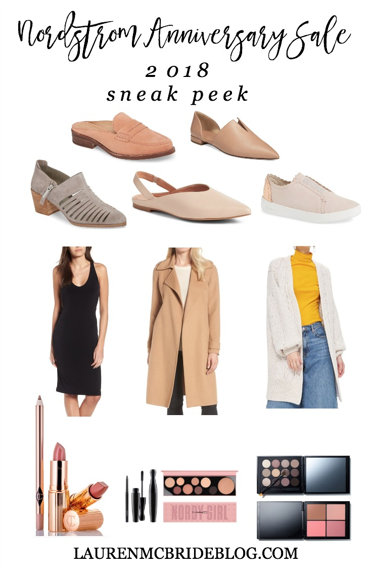 Life and style blogger Lauren McBride shares the Nordstrom Anniversary Sale 2018 Catalog, including sale dates, information, and her exclusive sale picks.
