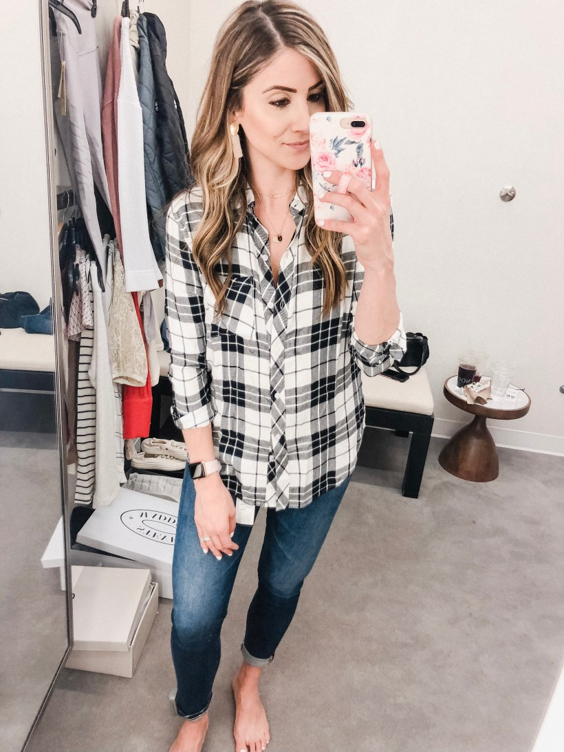 Life and style blogger Lauren McBride shares her fitting room try-on session for the Nordstrom Anniversary Sale 2018.