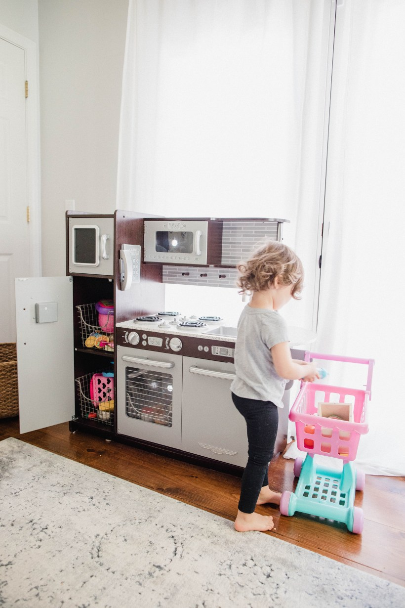 Connecticut life and style blogger Lauren McBride shares simple ways to foster imaginative play and creativity in your home with furniture and decor from Walmart.