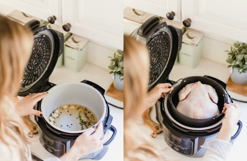 Connecticut life and style blogger Laure McBride shares a Ninja Foodi review, showcasing the pressure cooker and air fryer tecnhnology Ninja offers with their new and innovative product.