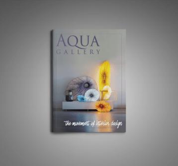 Aqua Gallery Spread