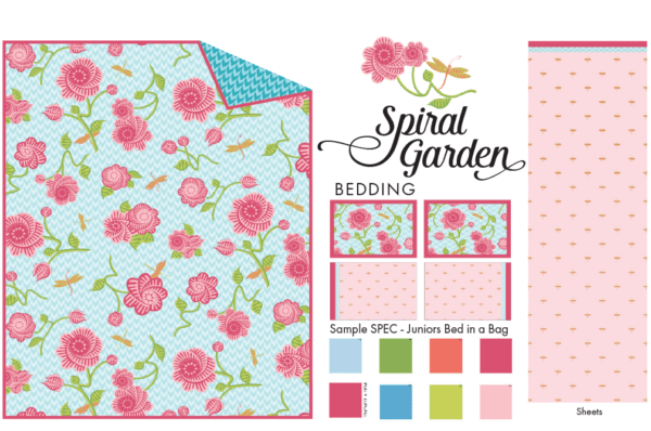 Spiral Garden Bedding Group