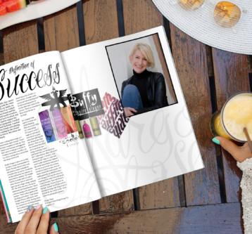 Margo Chase Magazine Spread