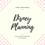 6 Things to buy before you leave for Disney to save money