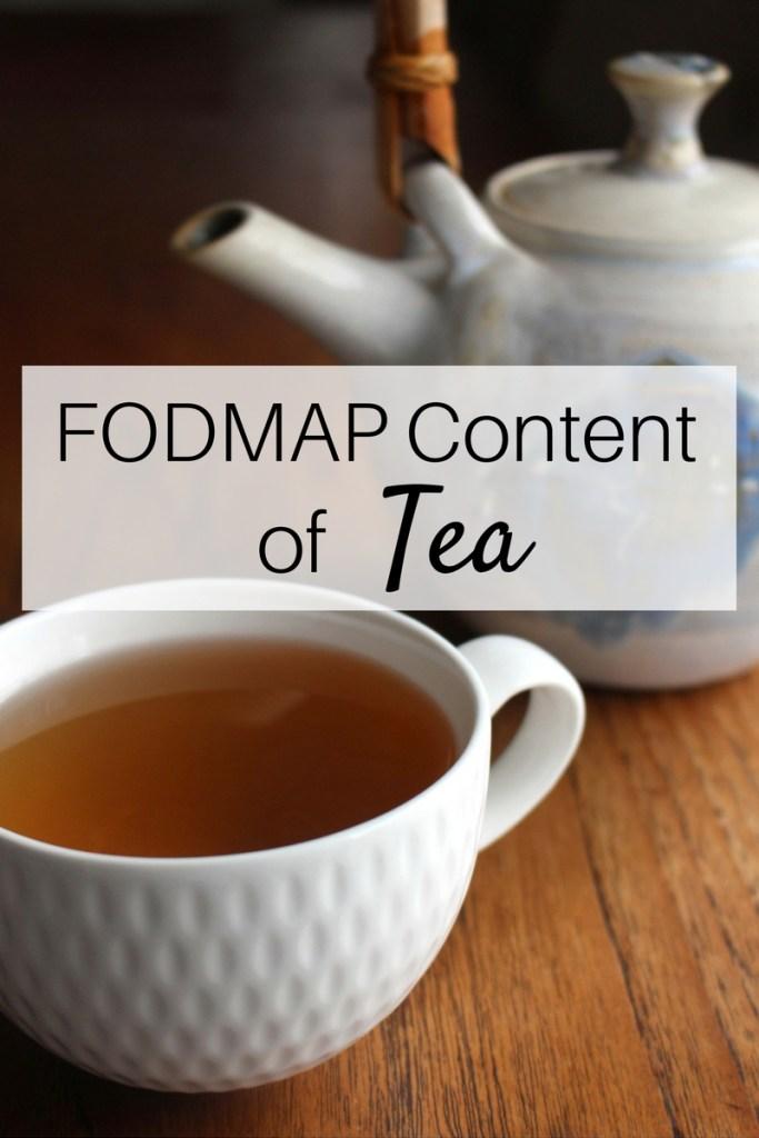 can i drink mate tea on fodmap diet