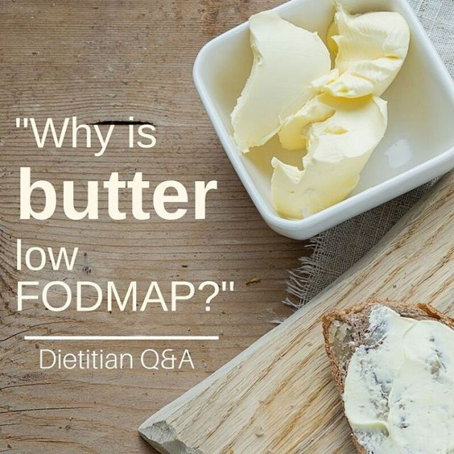 Latest blog post Why is butter low FODMAP? This ishellip