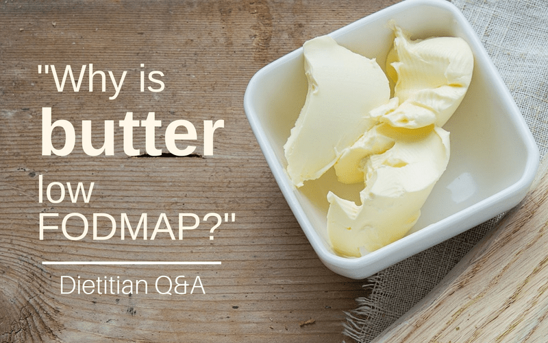 butter low fodmap