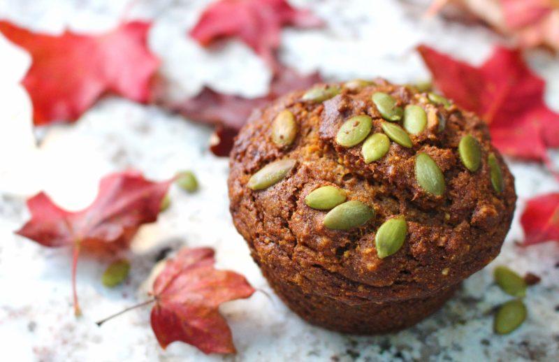 Low FODMAP Pumpkin Spice Muffins