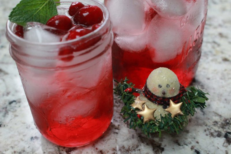 simple low fodmap holiday mocktail