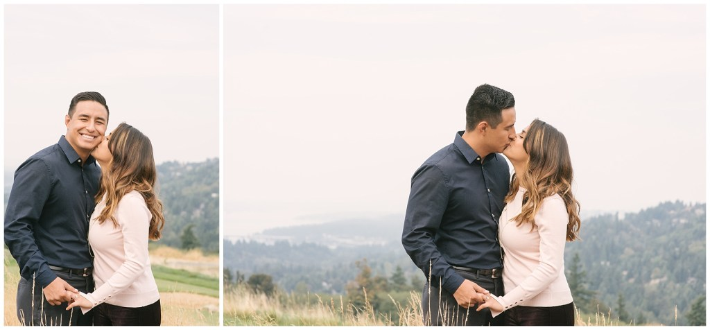 Alondra + Vincent Proposal   THE GOLF CLUB AT NEWCASTLE