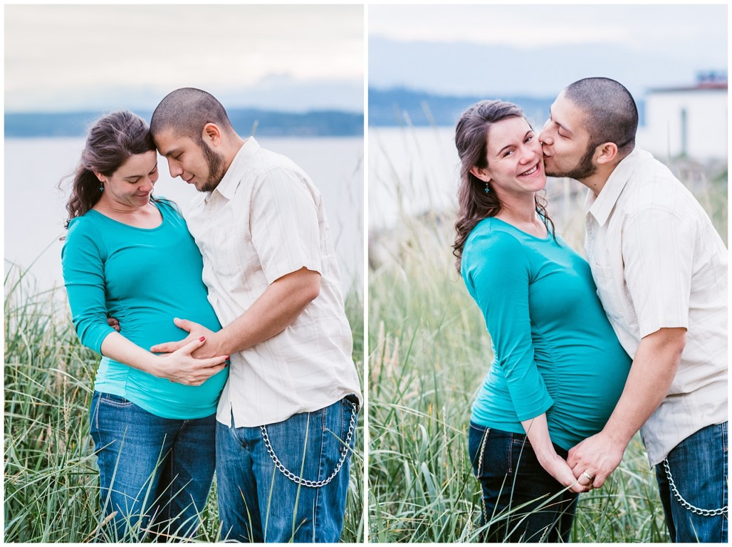 Kate and Christian | Maternity Session | Discovery Park, WA |