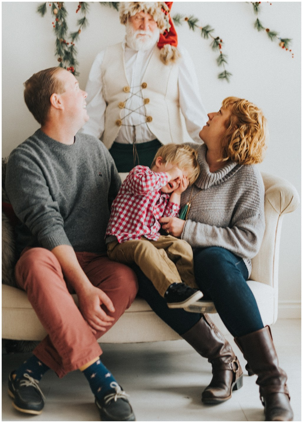Best Spots to Meet Santa Clause Near Seattle, Seattle Photographer, Holiday Family Sessions, PNW Santa, Lauren Ryan Photography, Seattle Santa Clause
