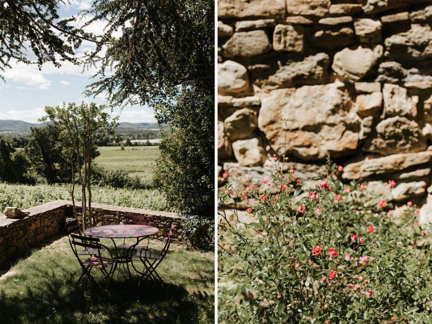 Un magnifique mariage au mas de So en Provence