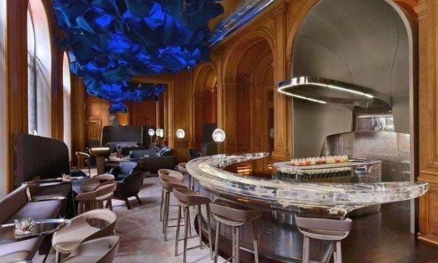 Patrick Jouin et Sanjit Manku: Un Bar pas comme les autres au Plaza Athénée