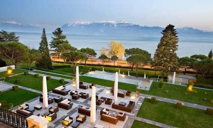 Le Beau-Rivage Palace à Lausanne, un hôtel historique