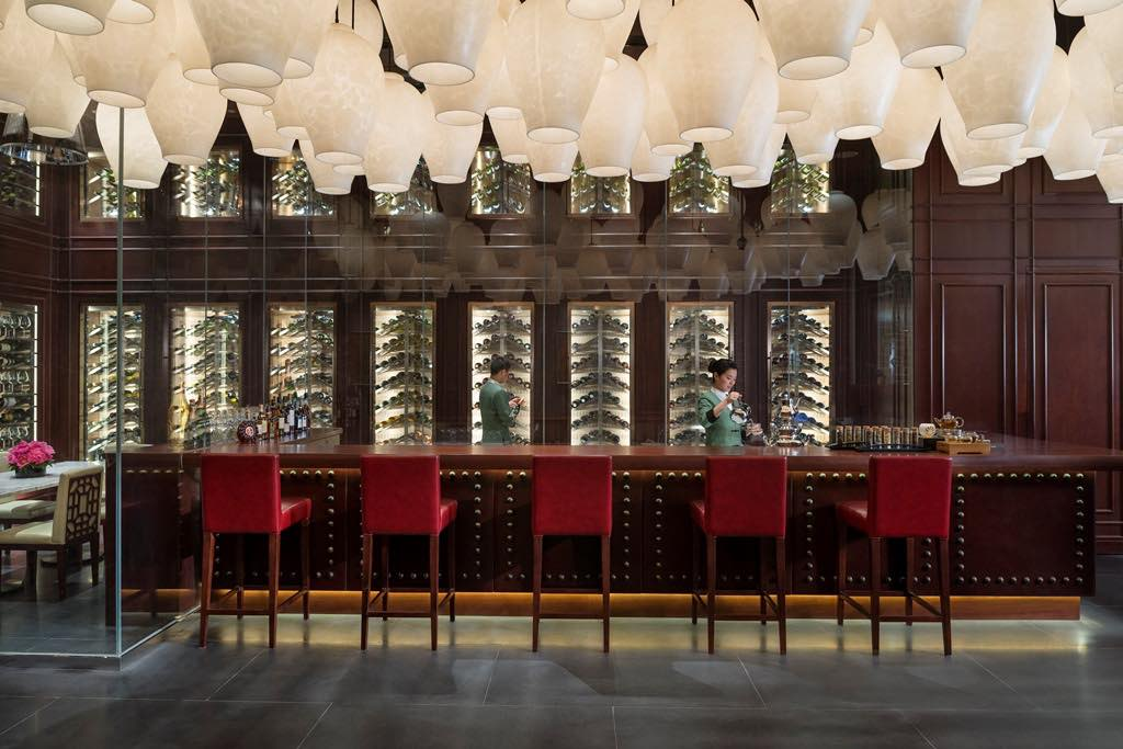 Bar at Mandarin Oriental Shangai