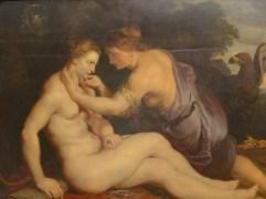 Im Barock galten füllige Frauen als besonders attraktiv. (Peter Paul Rubens, Jupiter und Kallisto, signiert und datiert 1613, Staatliche Museen Kassel, Galerie Alte Meister)
