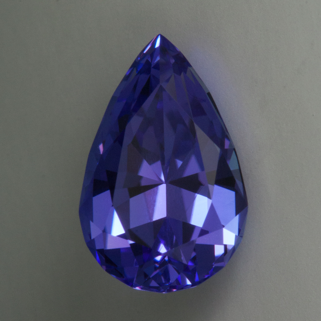 239 Carat Tanzanite N 108x7 Mm Pear Brilliant Cut