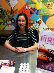 At my first book signing at the Chapters Indigo in Erin Mills. What a fun day!