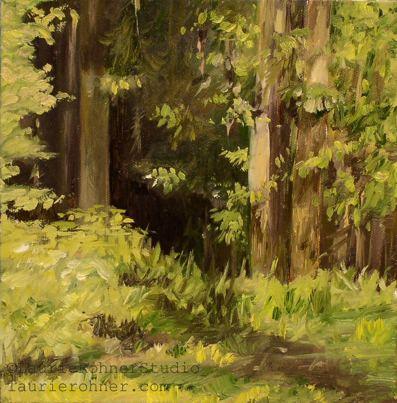 Fairy Trees Nature Art by Laurie Rohner