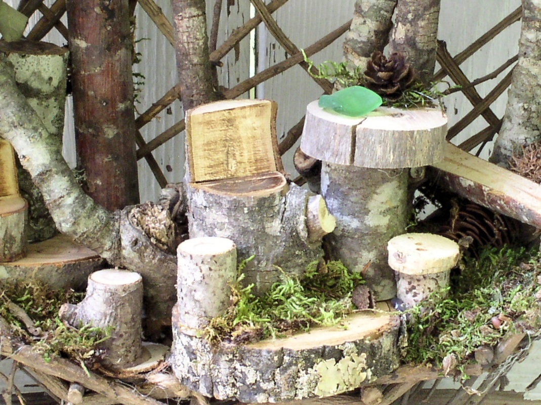 Woodland Custom Fairy House