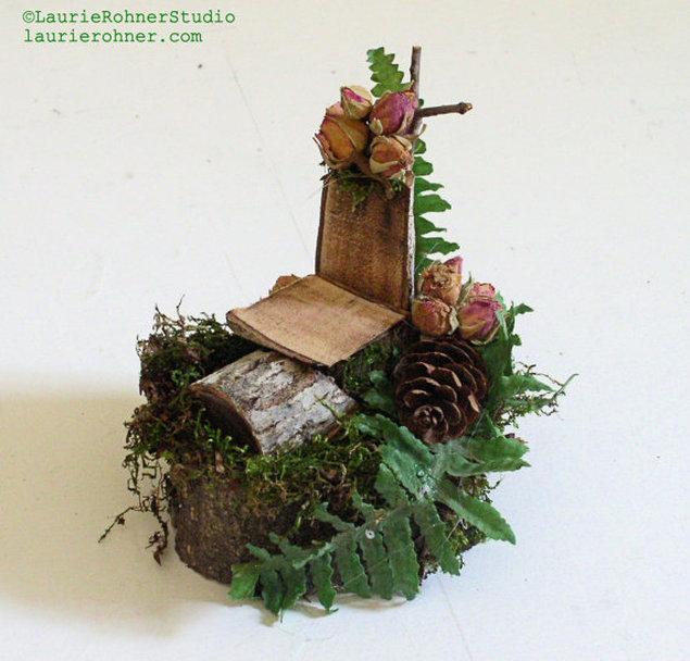 Branch Woodland Fairy Chair Furniture