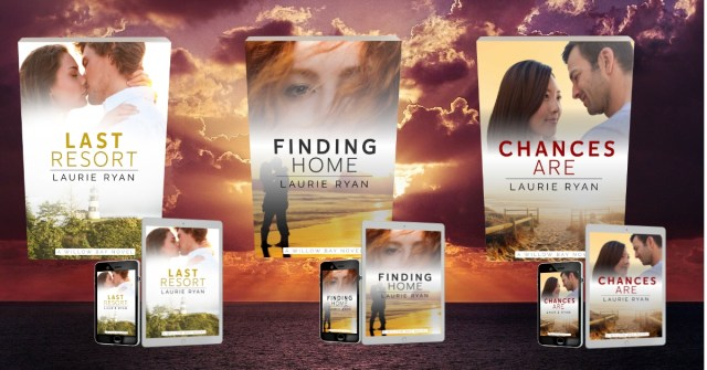 Willow Bay series by Laurie Ryan