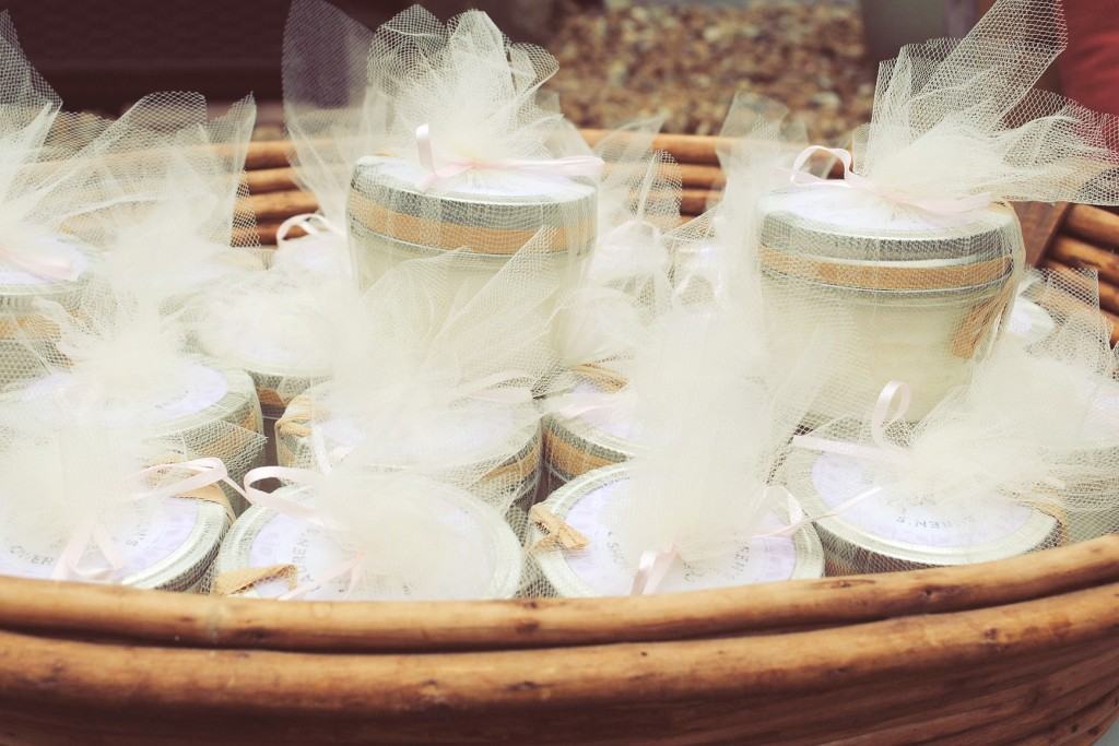 Party Favors ~ Handmade candles from a maker on Etsy to support small business!