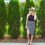 Striped Skirt Style