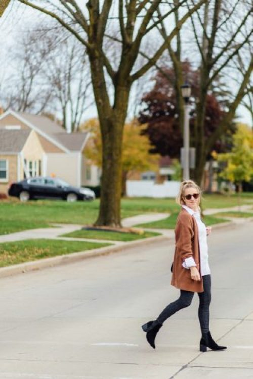 Fall Fashion Caramel Cardigan