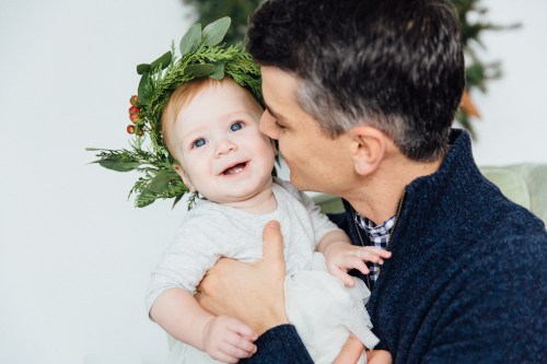 Holiday Family Studio Session