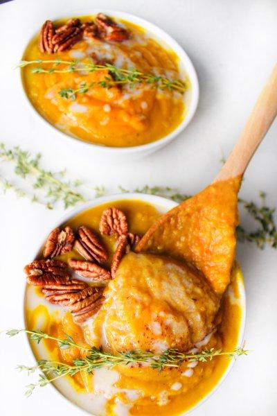 butternut apple soup