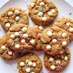 healthy birthday cake cookies
