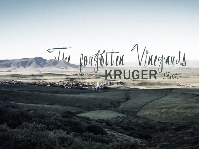 Kleine Rotweinprobe 1#4 – KRUGER *** the forgotten vineyards *** SHIRAZ