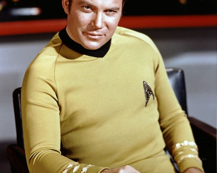 James T. Kirk is landed back to earth safely!