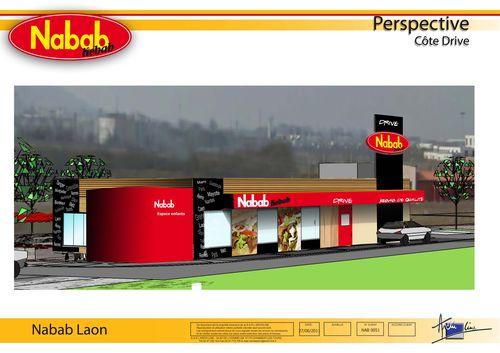 Le futur drive Nabab Kebab