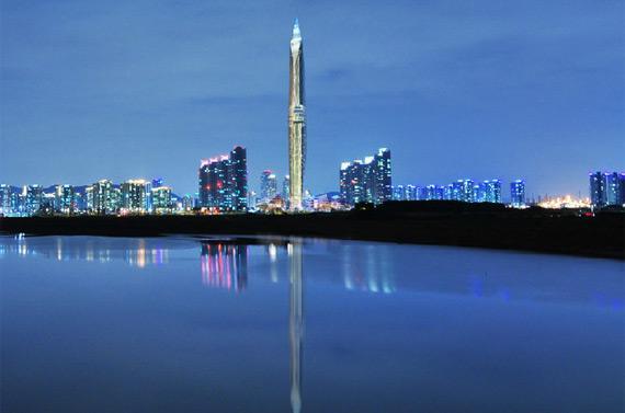 Le gratte-ciel sud-coréen «Tower Infinity»