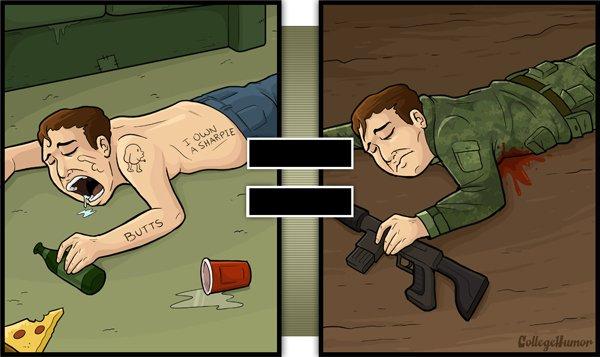 Vous pensez qu'un ami endormi est un ami qui est mort dans la bataille