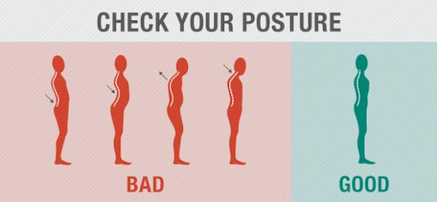 Numéro 9 : Vous améliorerez votre posture