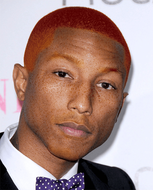 Pharrell Wiiliams roux
