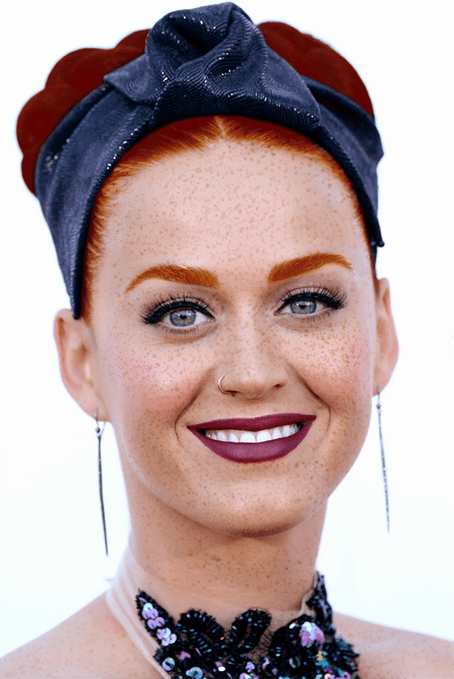 Katy Perry rousse