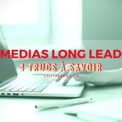 Mes conseils pour travailler avec des médias long lead