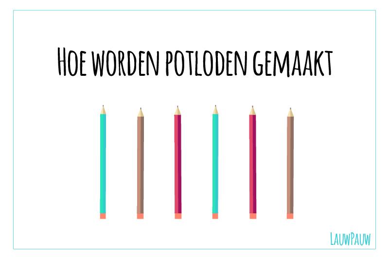 Hoe worden potloden gemaakt