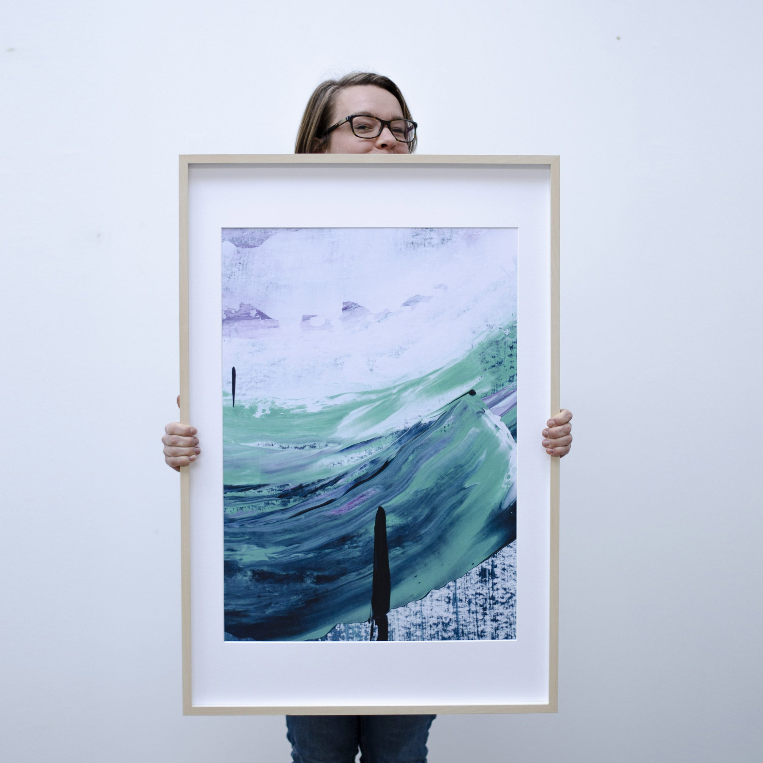 Kunstprint Atlas of the Ocean – Hold Steady